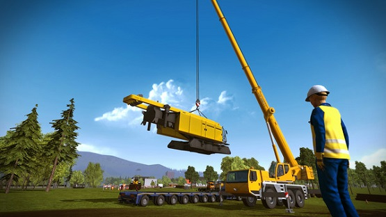 Construction Simulator 2015: Liebherr A 918 Free Download Pc Game