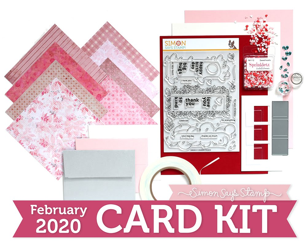 Simon February Card Kit