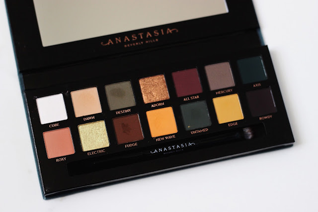 Anastasia Beverly Hills Subculture Eye Shadow Palette Review
