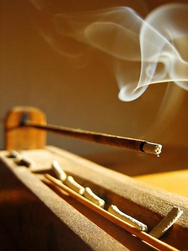 FREE incense...
