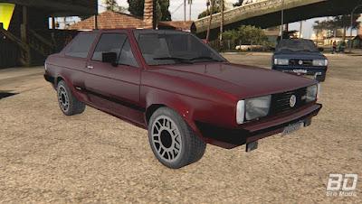 Download mod carro Volkswagen Voyage Super 1.8 1986 para o jogo GTA San Andreas, GTA SA PC