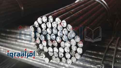 بالتفاصيل.. اعرف أسعار جميع أنواع حديد التسليح المتوفرة بالسوق المصرية اليوم الاثنين 1-8-2016