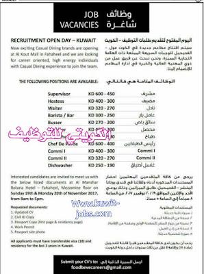 وظائف وزارات الكويت