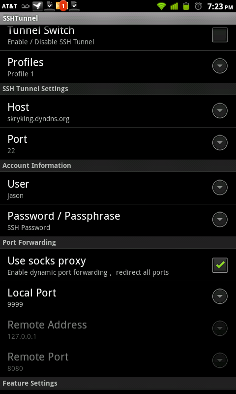Short Tech Thoughts: Apps to setup an SSH socks proxy on android