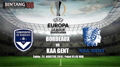 Prediksi Bordeaux vs KAA Gent 31 Agustus 2018