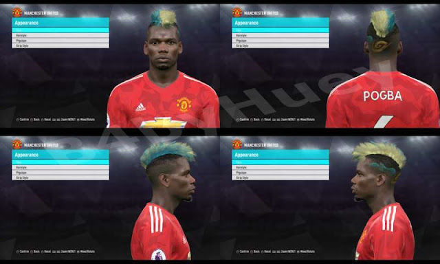 New Paul Pogba Face PES 2018