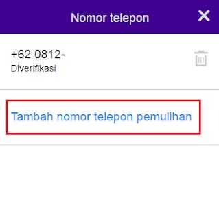 Memasukan nomor telepon ke data akun email yahoo Anda merupakan salah satu Cara Mengganti Nomor HP Di Email Yahoo