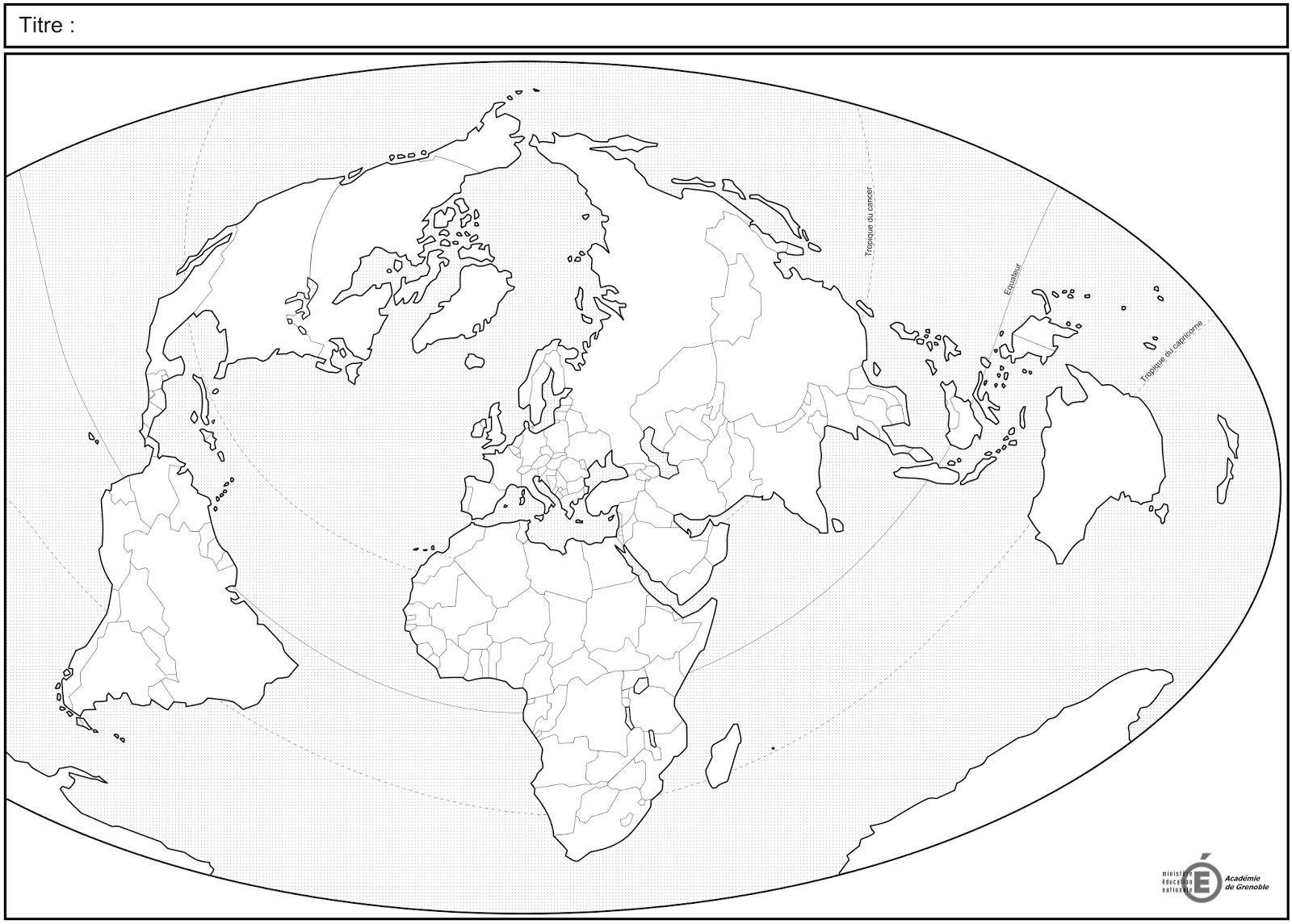 Fond De Carte Bresil Vierge Bac.Inegale Integration Des Territoires Dans La Mondialisation Carte