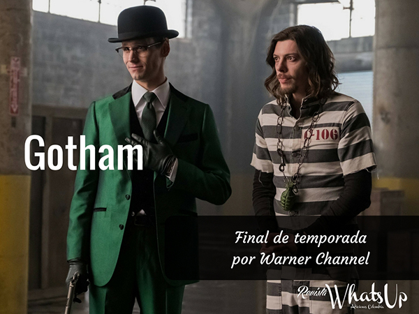 Final De Temporada Gotham Por Warner Channel Aficiones