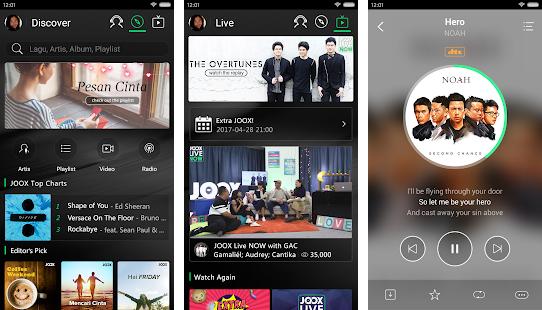 JOOX Music Premium Mod Apk Android