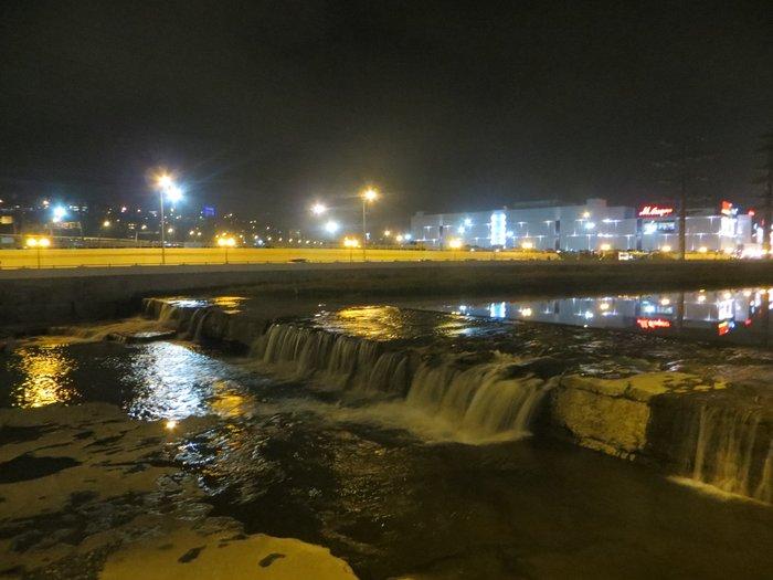 Река сочи маленький водопад