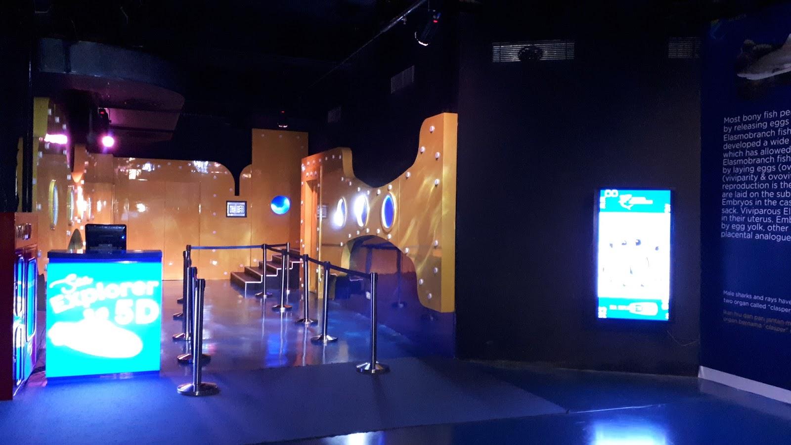 Berkunjung Ke Jakarta Aquarium The Traveling Cow Et Ticket Reguler Weekday Teater 5d
