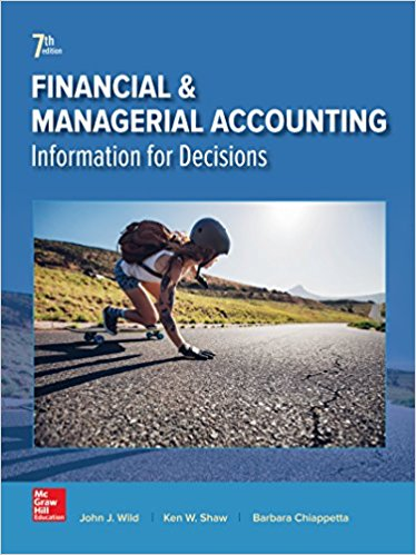 Managerial Accounting Textbook Pdf