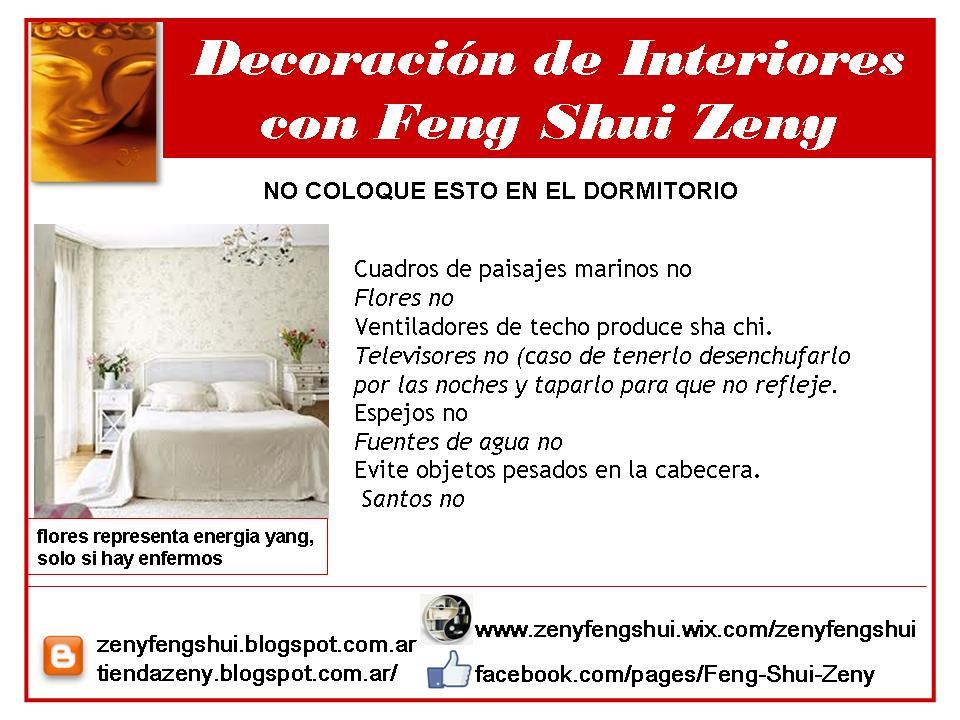 Zen y feng shui tao mini curso feng shui for Feng shui para el dormitorio
