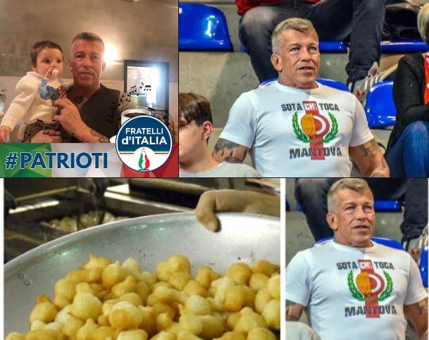 Frittelle solo ai bambini italiani? Sì, al Luna Park di Mantova.