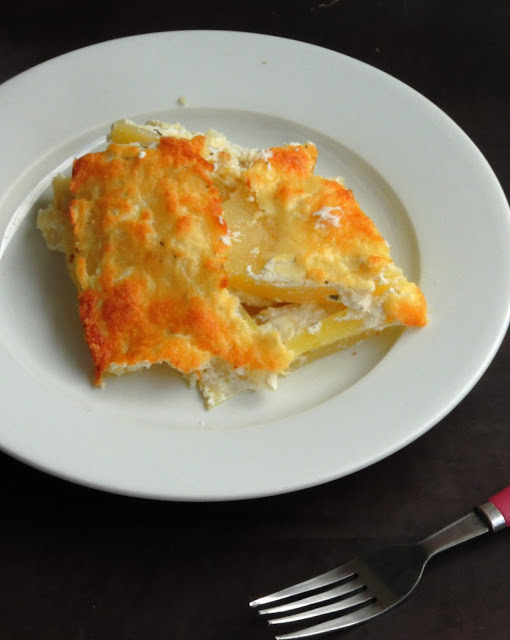 Pasta free Potato Lasagna