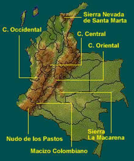 Caribe Con Del Mapa Region De Nombres La