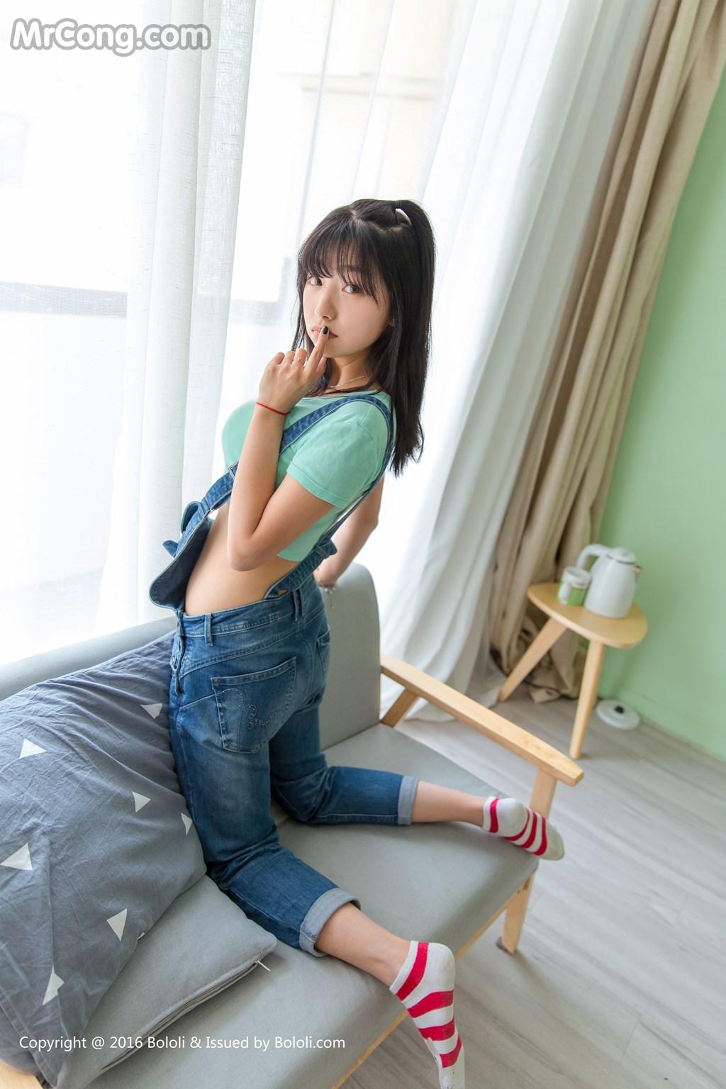 Kimoe Vol.001: Người mẫu Qiu Qiu Zhou Wen (球球周闻) (42 ảnh)