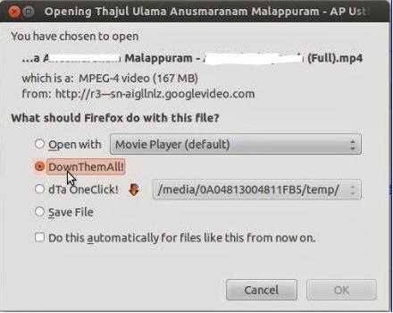 Download Accelerator in Mozilla Firefox