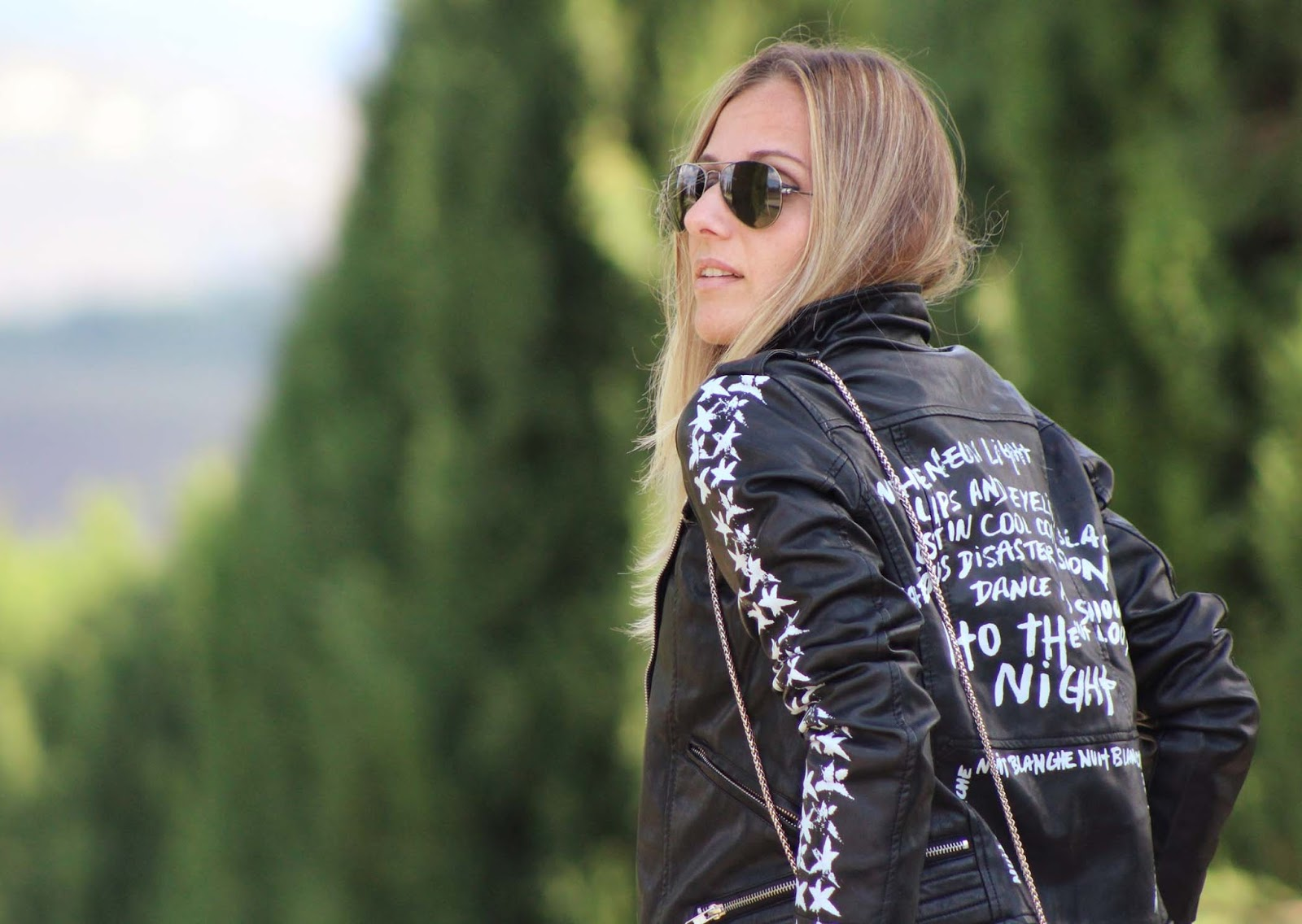 Eniwhere Fashion - Zaful's leather jacket