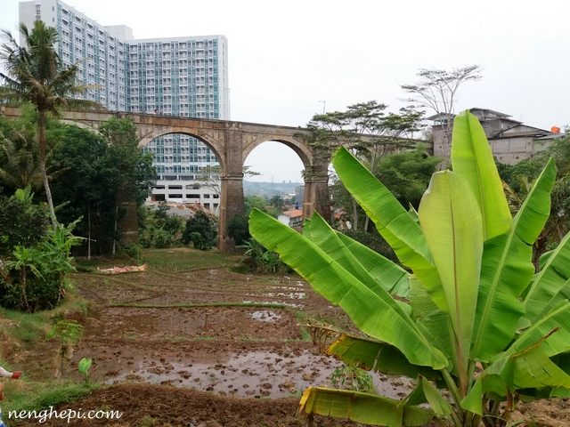 Fenomena Jembatan Cincin di Jatinangor yang Bersejarah