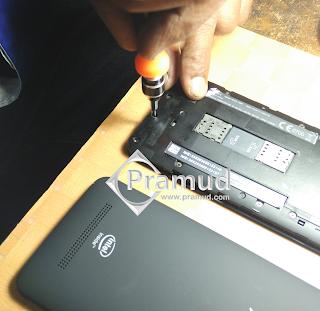 tutorial lengkap bagaimana cara membongkar dan memperbaiki asus zenfone 5 yang rusak - pramud blog