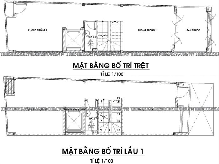 Mẫu thiết kế nhà ống 2 tầng diện tích 5x15m ở quê Tang-tret-tang-1