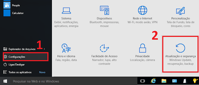 restaurar windows 10 configuracoes de fabrica