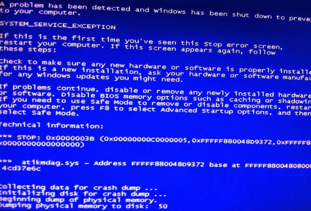 Ati Radeon Amd Bluescreen At Startup Solved Atikmdag Sys Blue Screen Bsod In Windows 7 Windows 8 Windows 10 Solve