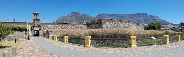 Castelo da Boa Esperança e Table Mountain - Cidade do Cabo - África do Sul