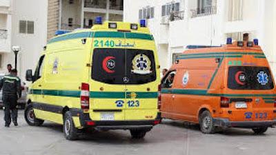 حادث مؤسف, سيارات الاسعاف, مكان الحادث,