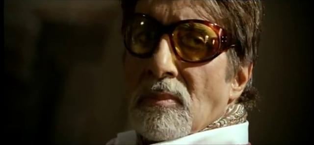 Creative and Stylish Amitabh Bachchan HD wallpaper