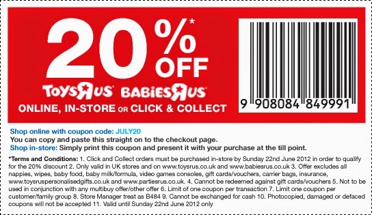 photograph regarding Babies R Us Coupons Printable identified as Toys r us retail outlet coupon codes printable - Bob evans army low cost