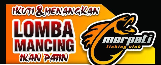 Berhadia Jutaan Rupiah dan Doorprize Motor, Merpati Fising Club Gelar Lomba Pancing