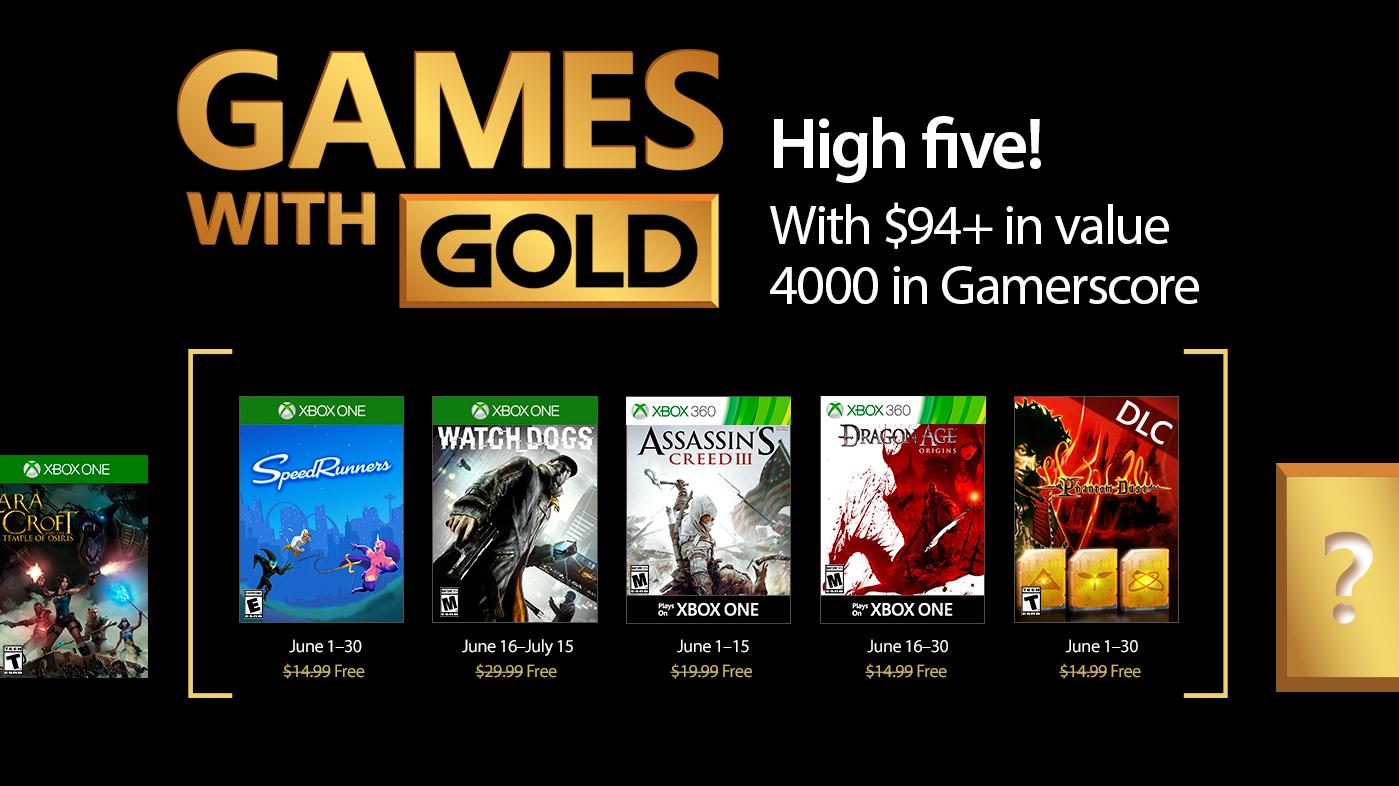 Ya sabemos los Games with Gold de junio, ¡el hackeo manda!
