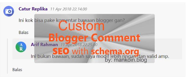 Komentar Blogger Simple SEO Terbaik