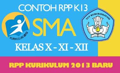 RPP Bahasa Indonesia SMA Kurikulum 2013 Revisi 2016 Kelas X