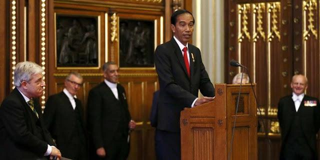 Jokowi: Islam yang damai aset diplomatis Indonesia di mata dunia