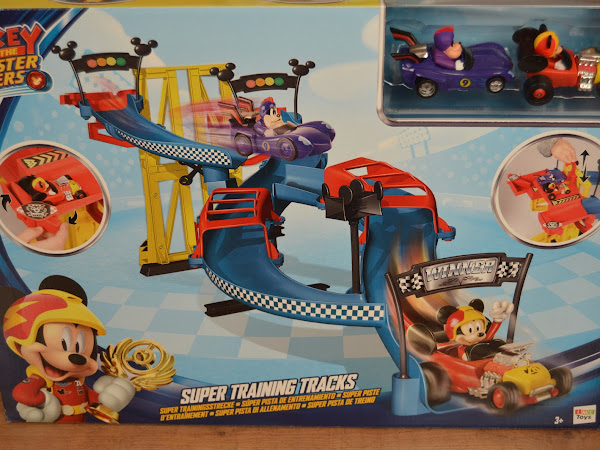 Review - Disney Mickey Roadsters Super Training Tracks