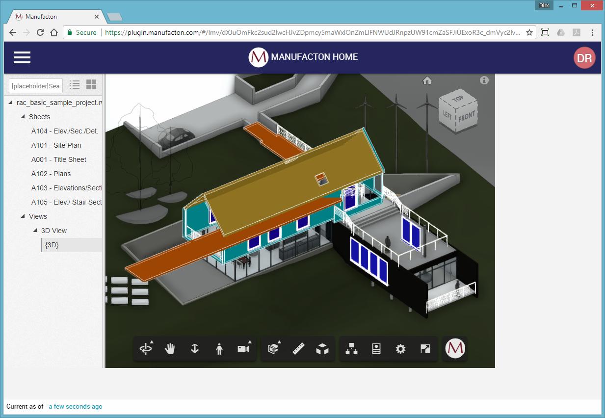 Revit Add-Ons: ManufactOn BIM Viewer Integration for Revit