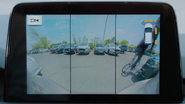 Ford lança câmera de ré 180º e frenagem autônoma