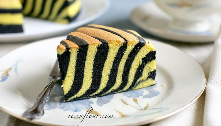 Recipe for Yummy Zebra Cake