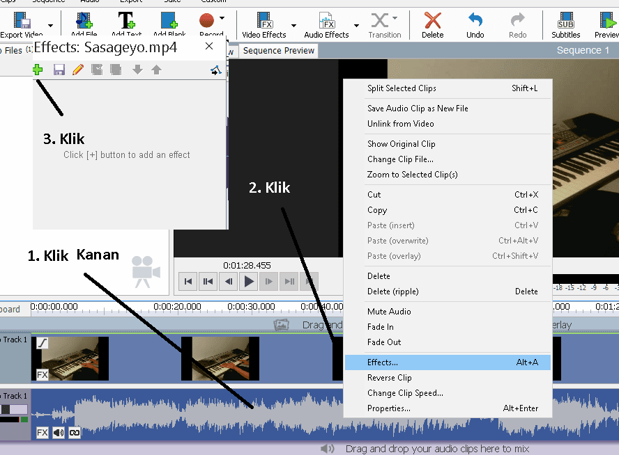 ketika menggunakan gadget seadanya untuk merekam video Tutorial Memperbesar Suara Video Yang Kecil Dengan VideoPad (Gampang)