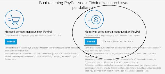 menerima pembayaran melalui paypal