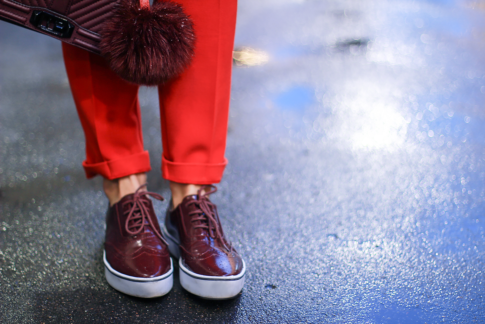 margarita_maslova_ritalifestyle_red_suit_camel_coat_Rebecca Minkoff_bag
