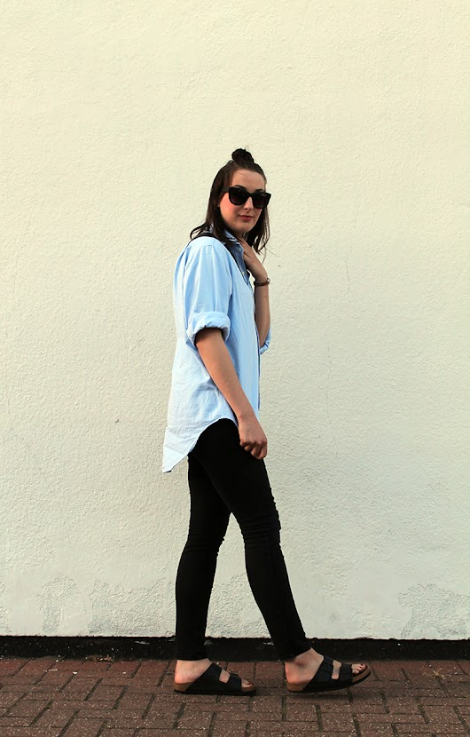 Steffani Louise - A UK Fashion And Style Blog : Outfit | The Plain Shirt