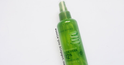 Nature Republic Soothing & Moisture Aloe Vera 92% Soothing Gel Mist Review | Soothing Face Mist