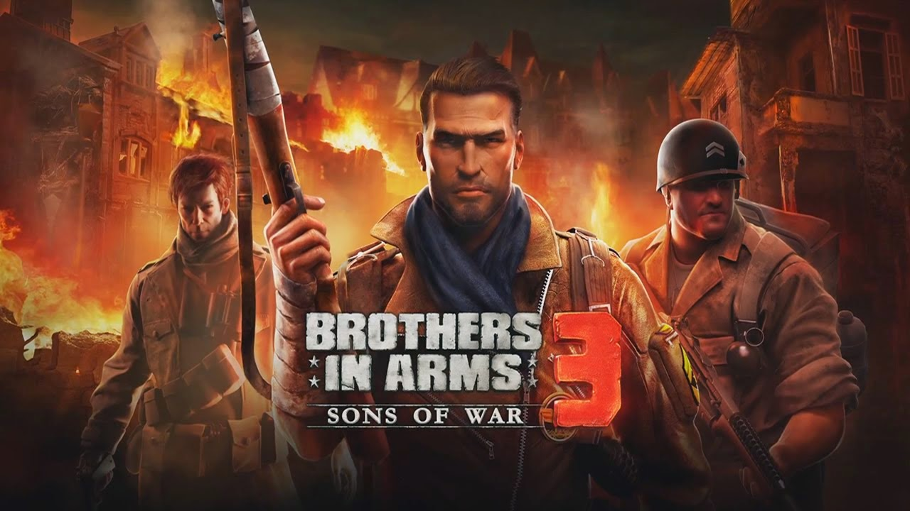 لعبه Brothers in Arms 3 v1.4.3d مهكره جاهزه (تحديث)