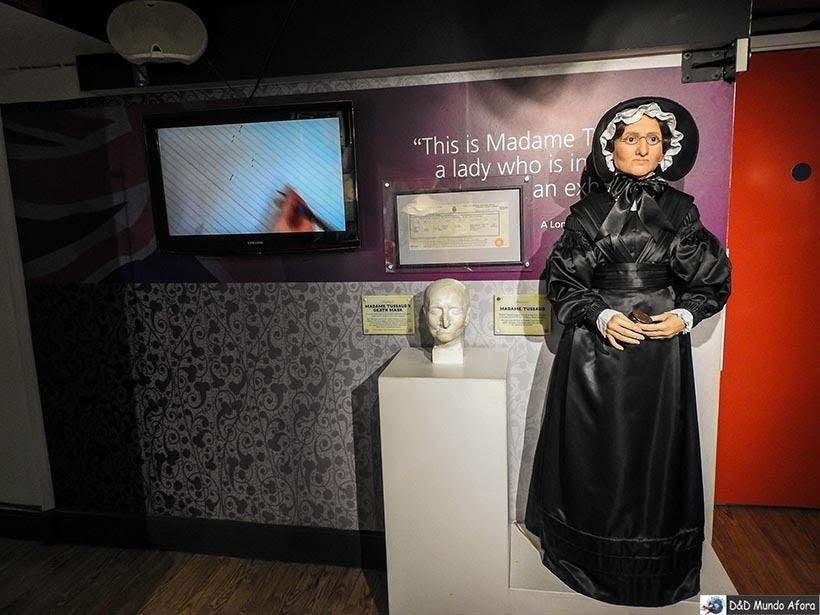 Marie Tussauds, criadora do Museu Madame Tussauds. Como visitar o museu de cera de Londres