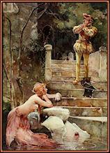 La sirena de Zennor, por Weguelin.